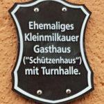 Schild Gasthof Kleinmilkau