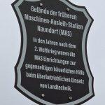 Schild MAS Naundorf