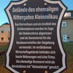 Schild Rittergut Kleinmilkau